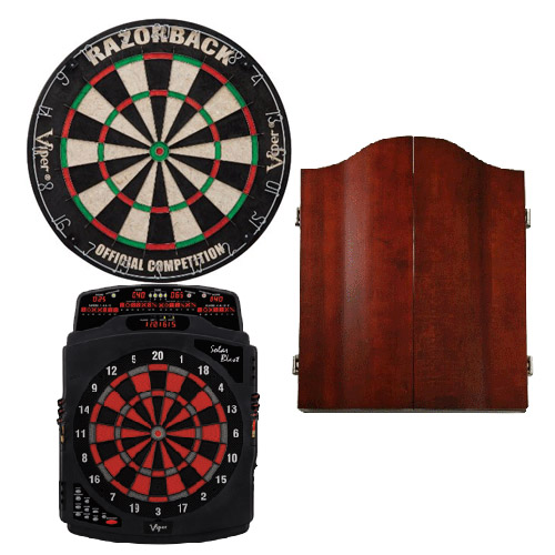 Dartboards and Cabinets