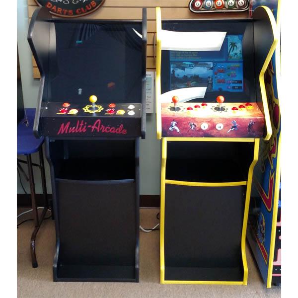 Multi Arcade Pedestal Cabinet