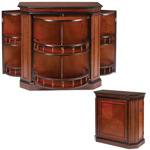 Bar Cabinet with Spindle