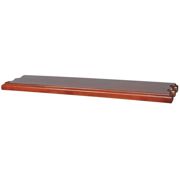 Wall Shelf with cue rests