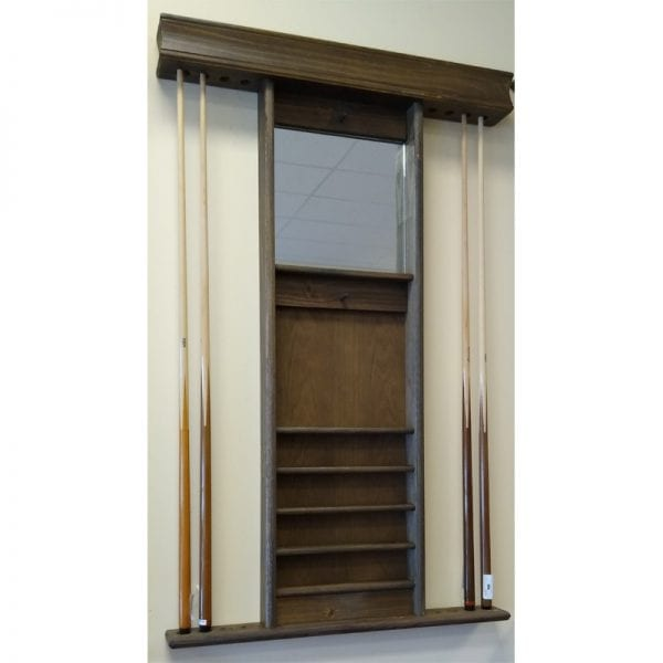 Cue Rack with Mirror
