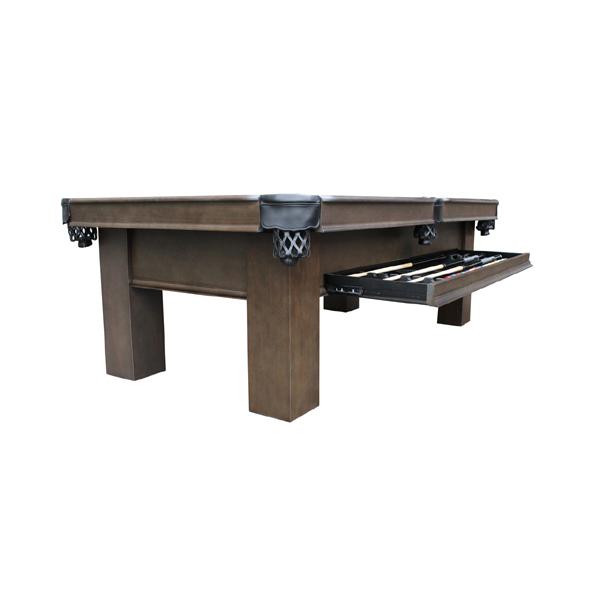 Elias Pool Table w/ Storage Drawer